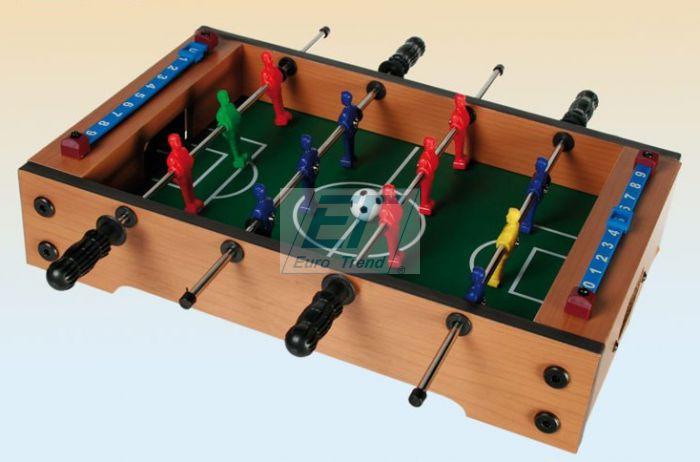 Tischfußballspiel<br> ca.33x21cm Holz<br>Fanartikel