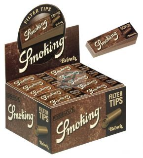 Smoking Filtertips Brown 50er Box/50 Tips