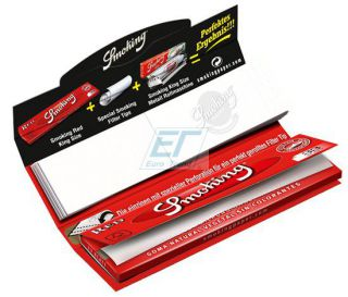 Smoking Paper K.S. RED  mit Filtertips 24er Box/33 Blatt + 33 Tips