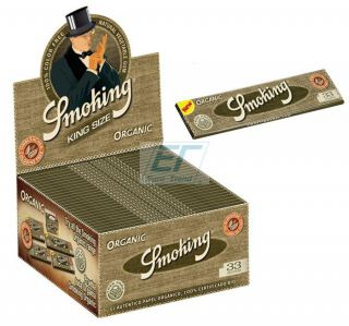 Smoking Paper K.S. ORGANIC 50er Box/33 Blatt