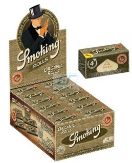 Smoking Paper ORGANIC ROLLS 24er Box