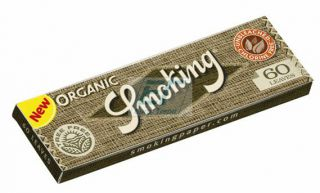 Smoking Paper ORGANIC Regular 50er Box/60 Blatt