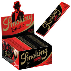 Smoking Paper K.S. Black De Luxe 50er Box/33 Blatt