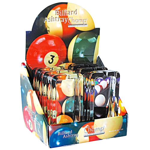 Aschenbecher  BILLIARD  Glas