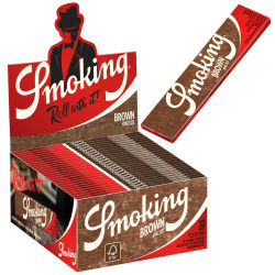 Smoking Paper K.S. Brown 50er Box/33 Blatt