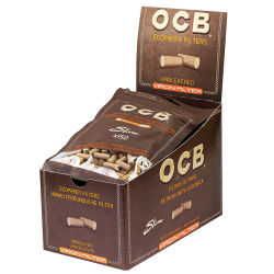 OCB Unbleached Slim Filter 10 x 150er Beutel 6mm