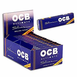 OCB ULTIMATE Long Slim + Tips 32er Box/32 Blatt+32 Tips