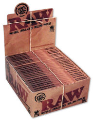 RAW 50er Box/32 Blatt Classic King Size Slim Papier