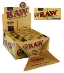 RAW 15er Box/32 Blatt Classic Artesano King Size Slim...