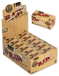 RAW Organic King Size Rolls 24er Box/ je ca. 5m