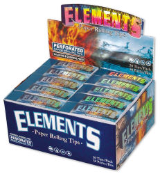Elements Filtertips perforiert 50er Box/50 Tips