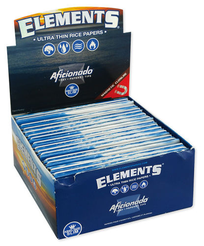 Elements Artesano KS Slim Papier 15er Box/33 Blatt mit Tips