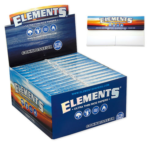 Elements Connoisseur - KSS Papier & 24er Box/32 Blatt mit Tips