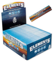 Elements King Size Slim Ultra Thin Papier 50er Box/33 Blatt