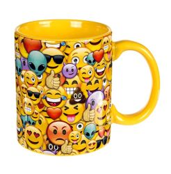 Becher Emotion Family Steingut Tasse ca.10x8cm