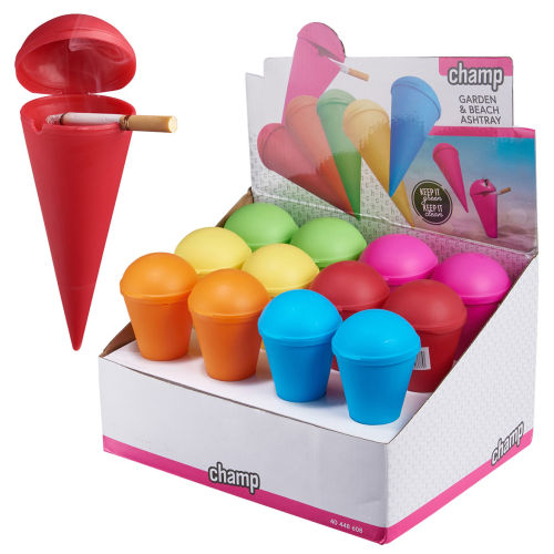 Beach Aschenbecher Colors Champ
