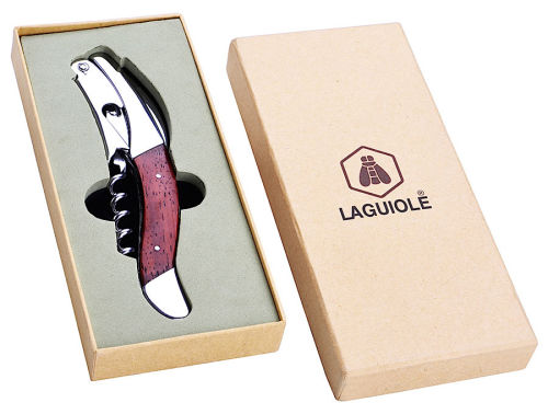 Laguiole Korkenzieher RED PEAR Wood
