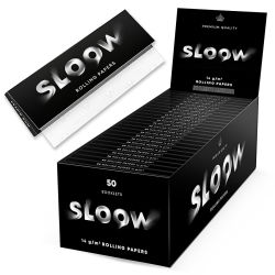 Sloow Black Papers kurz 50er Box/50 Blatt