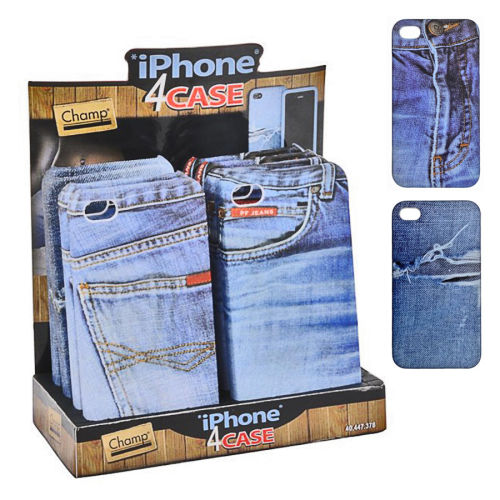 Handy-Hülle Jeans  für iPhone 4 Champ
